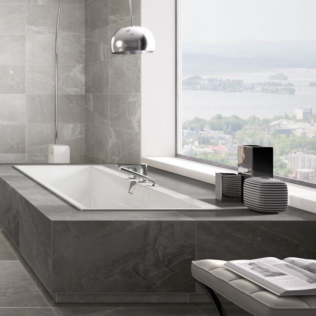 Villeroy and Boch Squaro Edge 12 Luxury Double Ended Bath