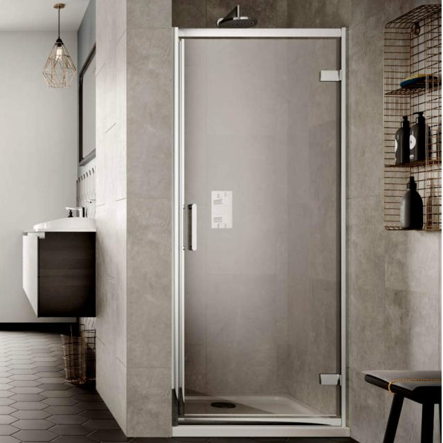 Sommer 8 Contemporary Pivot Shower Door