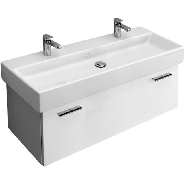 Villeroy Boch Central Line Double Width Vanity Unit A