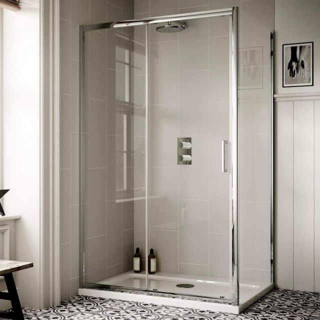 Sommer Sliding Shower Door