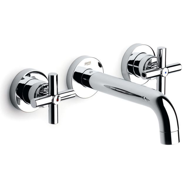 Roca Loft Wall Mounted Basin Mixer with 190mm Spout