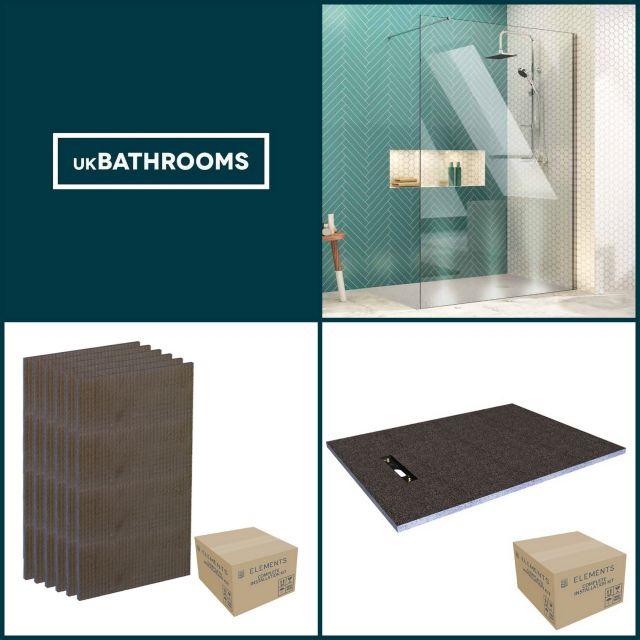 Origins Linear Wet Room Shower Pack 1 - M8SW241