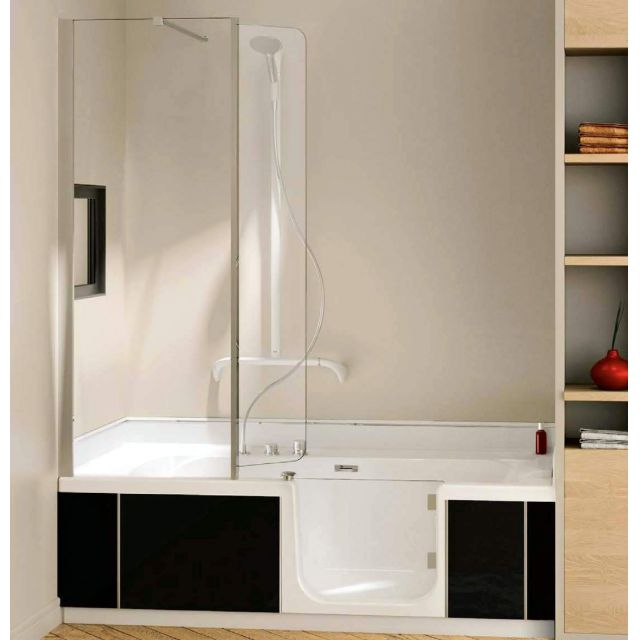 Kinedo Kineduo Walk-in Recessed Shower Bath Package