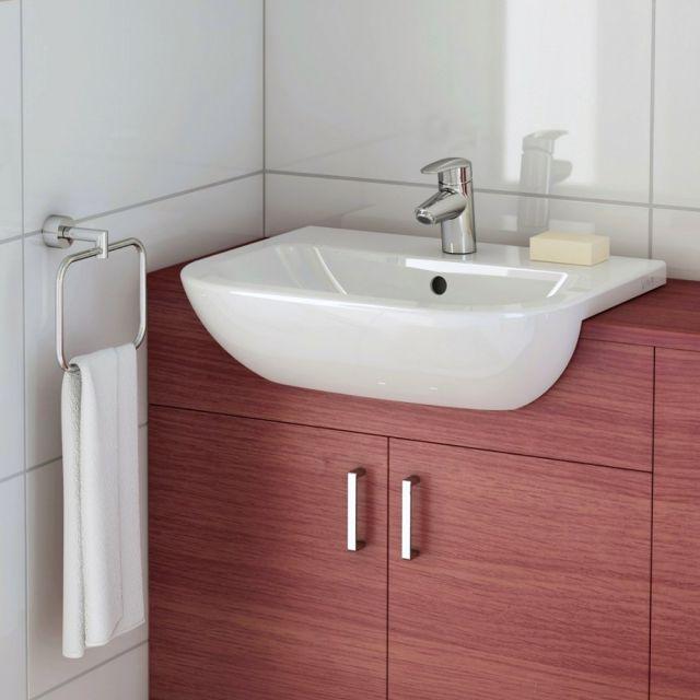 VitrA S20 Semi-recessed Washbasin