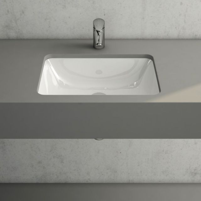 VitrA S20 Under-counter Rectangular Basin