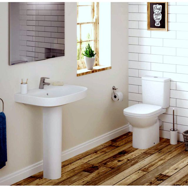 Roca Debba Eco Toilet and Basin Suite