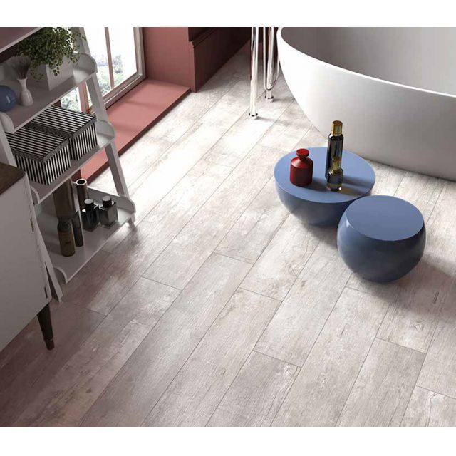 Abacus Nirvana White Oak Porcelain Tile