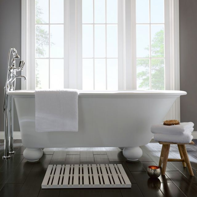 Imperial Stanlake Single Ended Freestanding Roll Top Bath