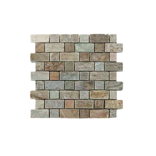 Abacus Natural Stone Brick Tile 30.5 x 30.5cm