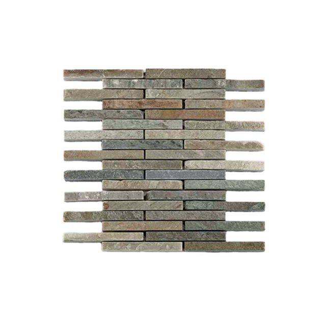 Abacus Natural Stone Pencil Tile 30.5 x 30.5cm