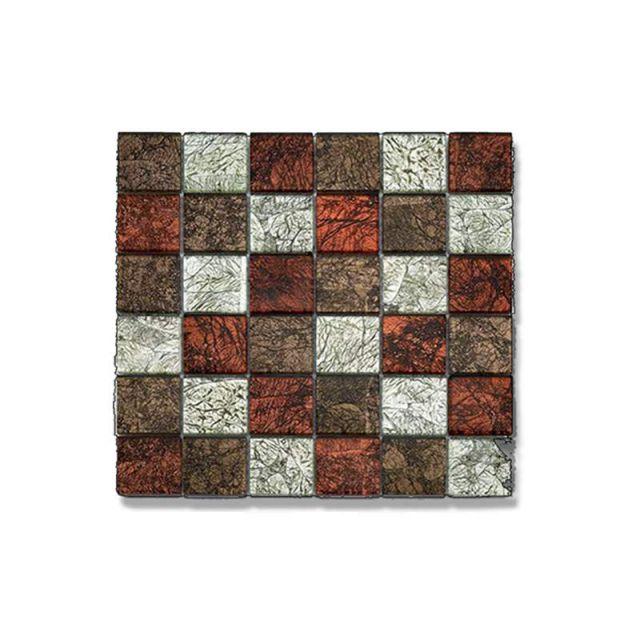 Abacus Glass Mosaic Tile 30 x 30cm