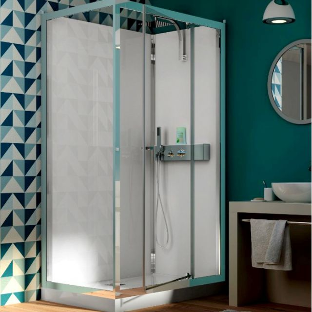 Kinedo Eden Corner Pivot Door Shower Cubicle