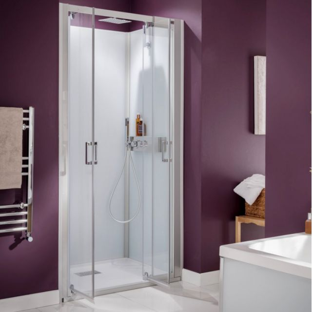 Kinedo Kinemagic Design Shower Cubicle with Outward Opening Hinged Doors