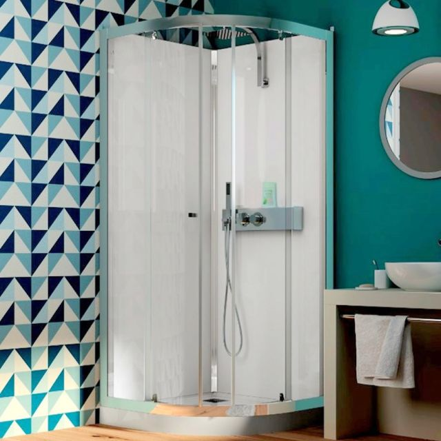 Kinedo Eden Quadrant Shower Cubicle with Sliding Doors