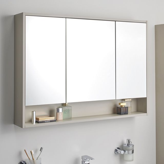 VitrA Integra Large 100cm Mirror Cabinet