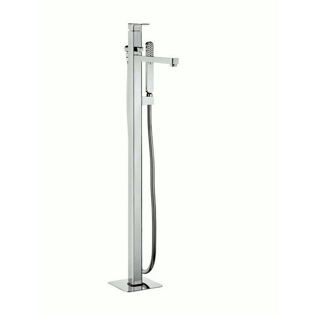 Crosswater Atoll Floor Mounted Freestanding Bath Shower Mixer
