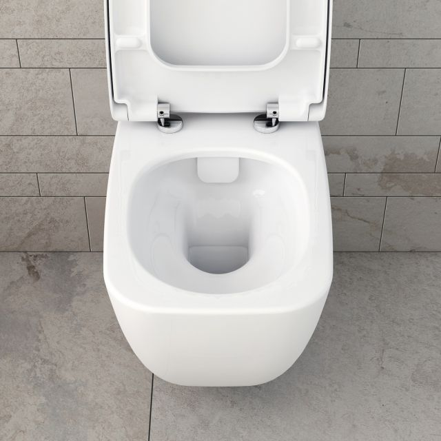 VitrA Shift Rimless Wall Hung WC