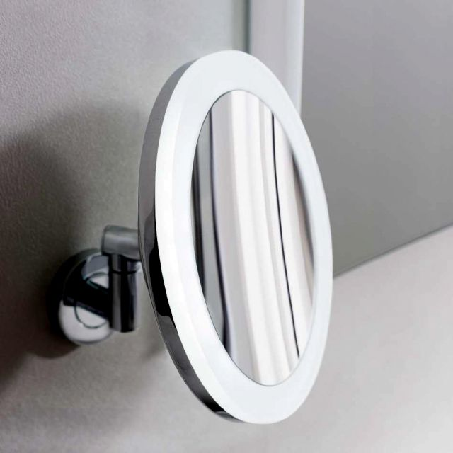 Crosswater MPRO LED Illuminated Magnifying Mirror