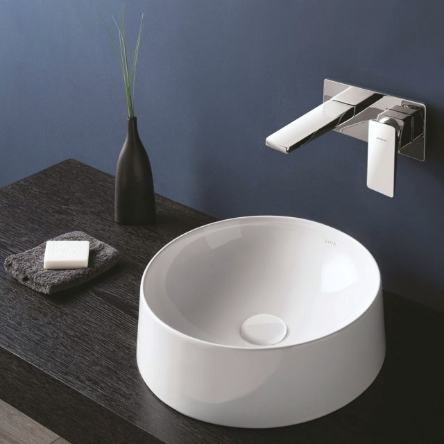 VitrA Frame Round Sit on Basin