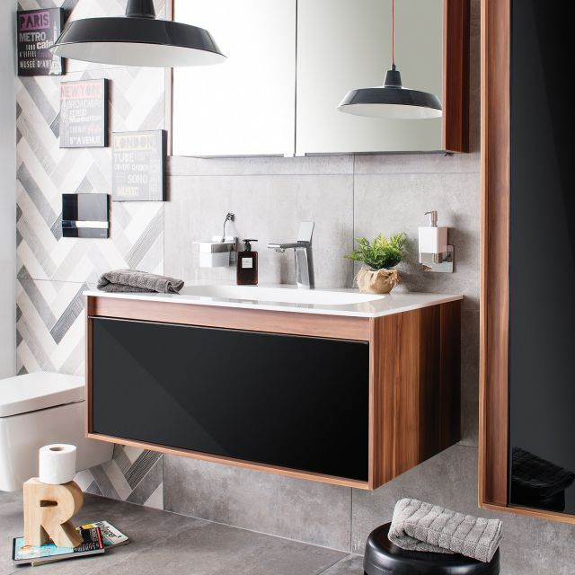 VitrA M-Line Infinit 100cm Single Drawer Vanity
