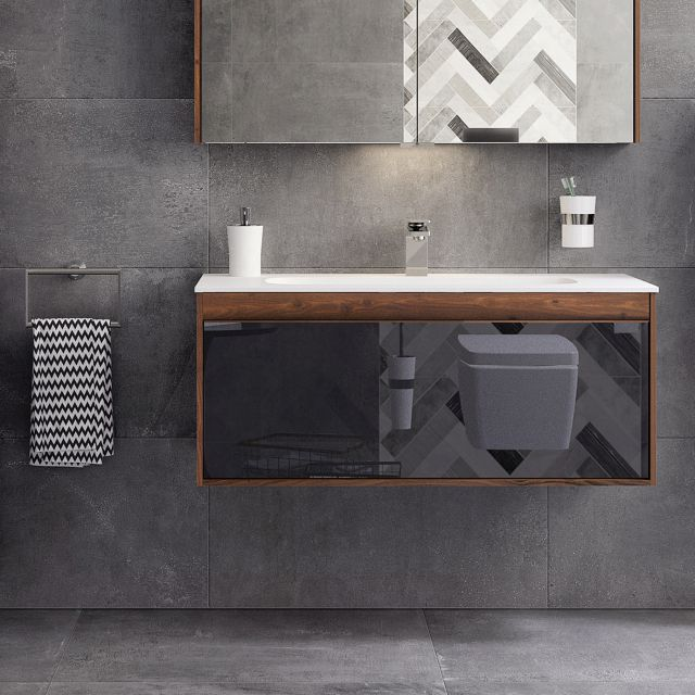 VitrA M-Line Infinit 120cm Single Drawer Vanity