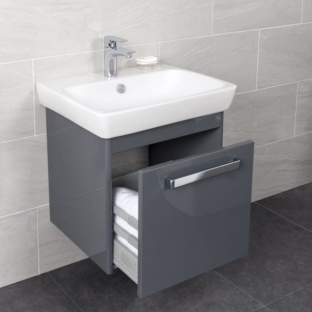 Vitra M-Line 60cm Single Drawer Vanity