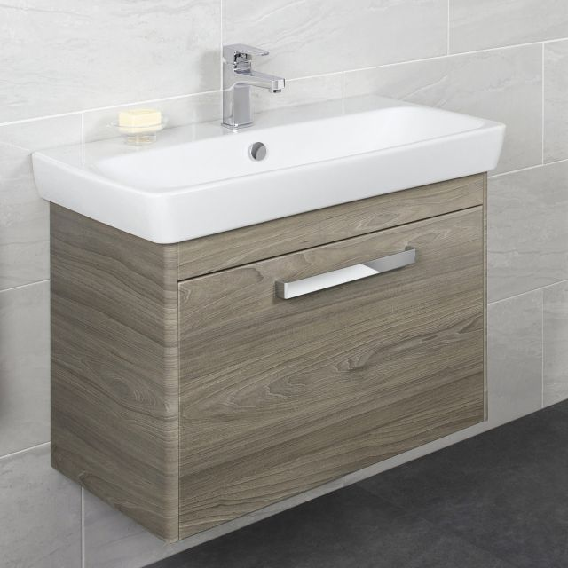 Vitra M-Line 80cm Single Drawer Vanity
