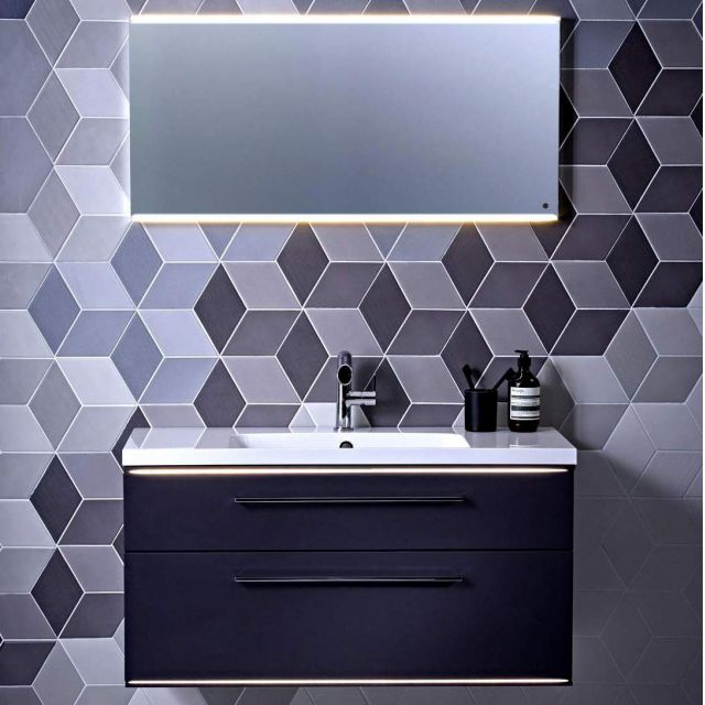 Roper Rhodes Scheme LED Illuminated Mirror