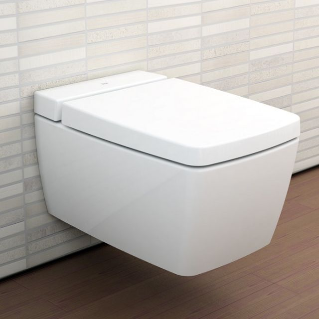 VitrA M-Line Wall Hung WC with VitrA Fresh
