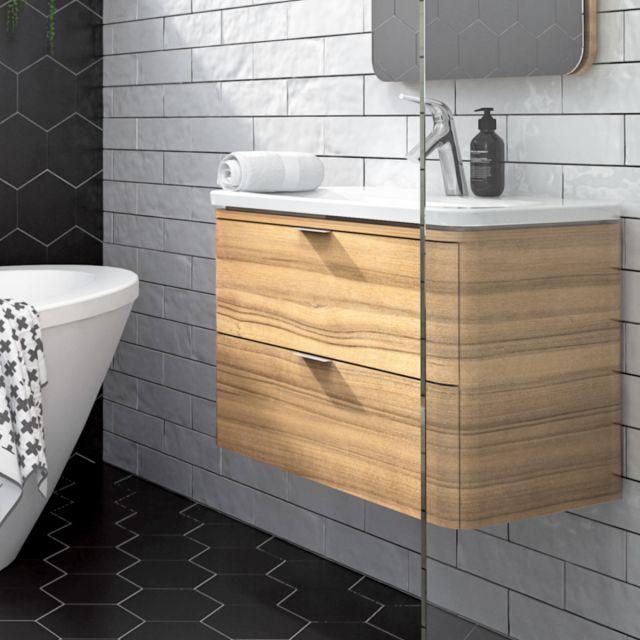 VitrA Nest Trendy 600mm 2 Drawer Vanity - 56327