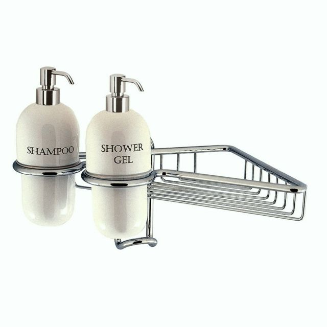 Crosswater Solo Wire Basket with Dispensers
