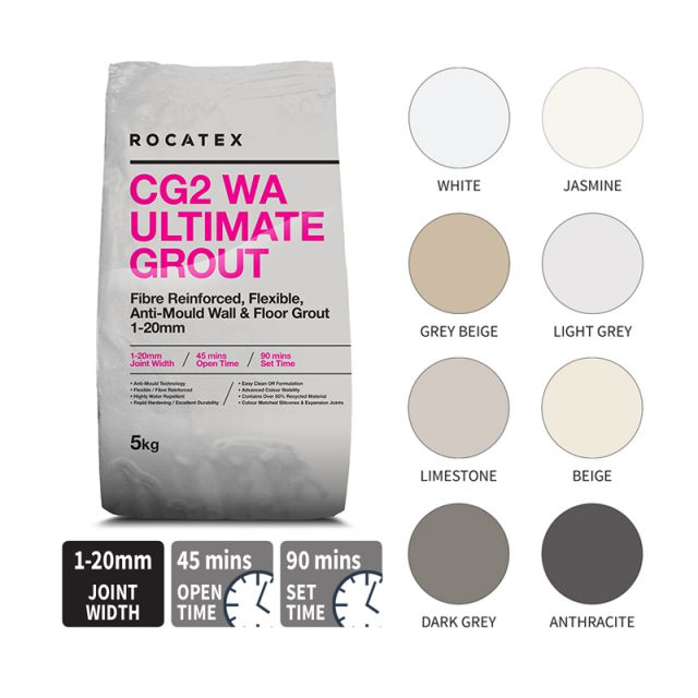 Abacus Rocatex CG2 WA Ultimate Grout