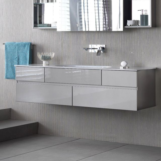 VitrA Memoria 1500mm Vanity with Oval Bowl