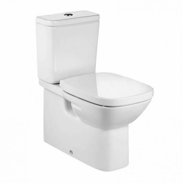 Roca Debba Fully Back to Wall Close Coupled Toilet - 34299B00U