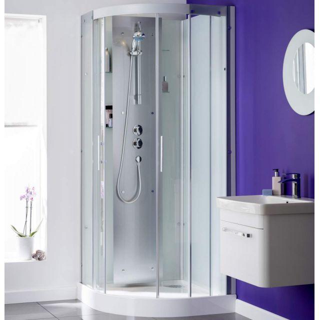 Kinedo Moonlight Quadrant Shower Cubicle with Sliding Doors