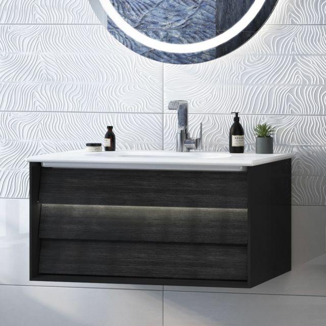 VitrA Frame 1 Drawer 80cm Vanity with Basin