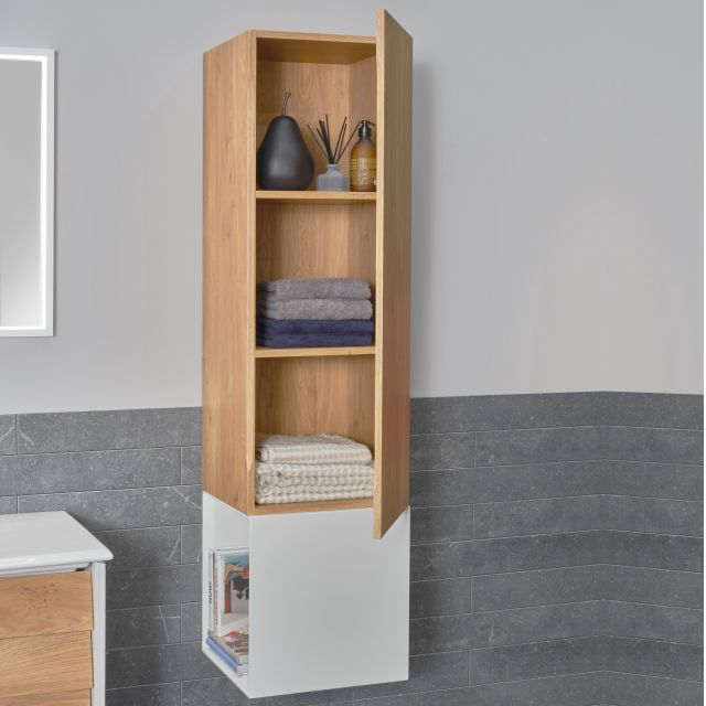 VitrA Frame Tall Unit with Open Box Section