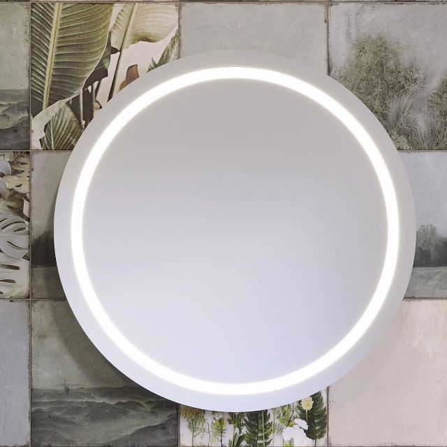 VitrA Frame Large 80cm Round LED Mirror