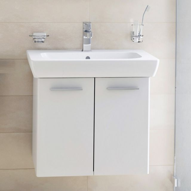 VitrA S20 2 Door 65cm Vanity with Basin