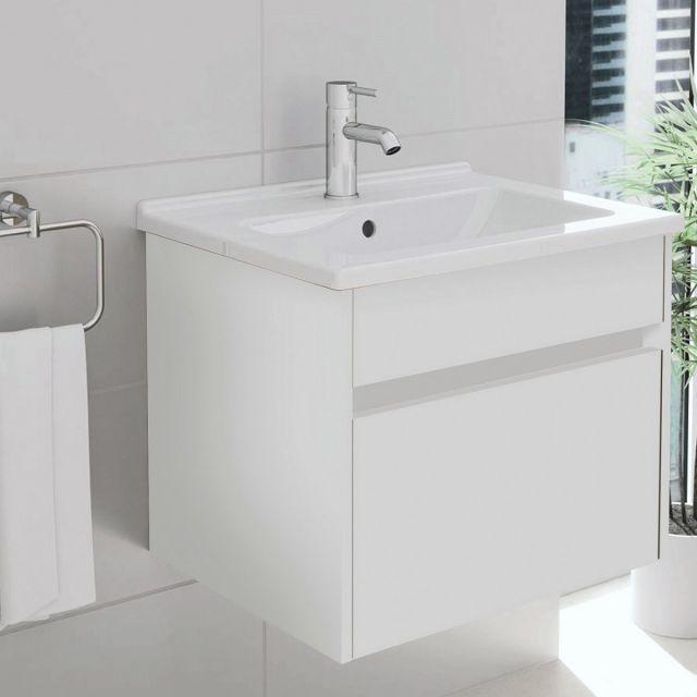 VitrA S50 60cm 1 Drawer Vanity