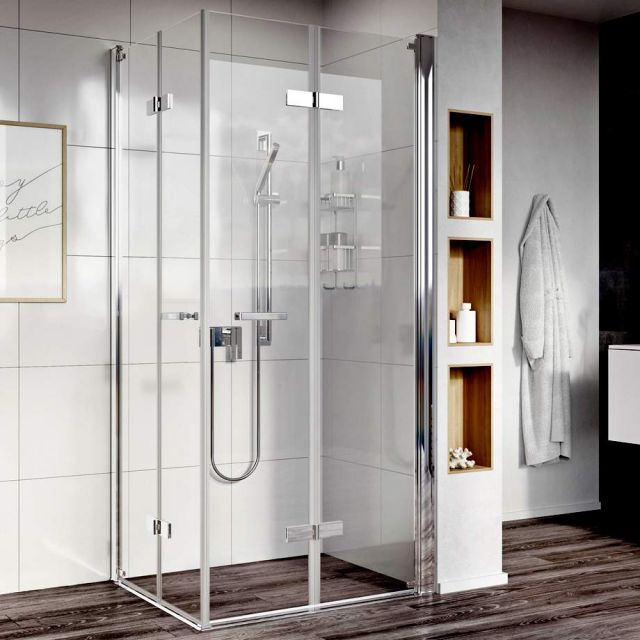 Roman Showers Innov8 Bi-Fold Easy Access Corner Enclosure