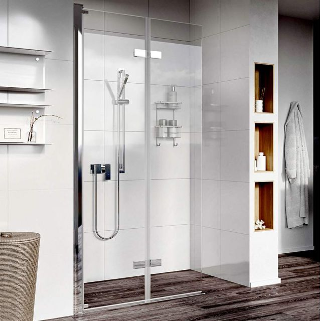 Roman Showers Innov8 Bi-Fold Easy Access Wetroom Panel
