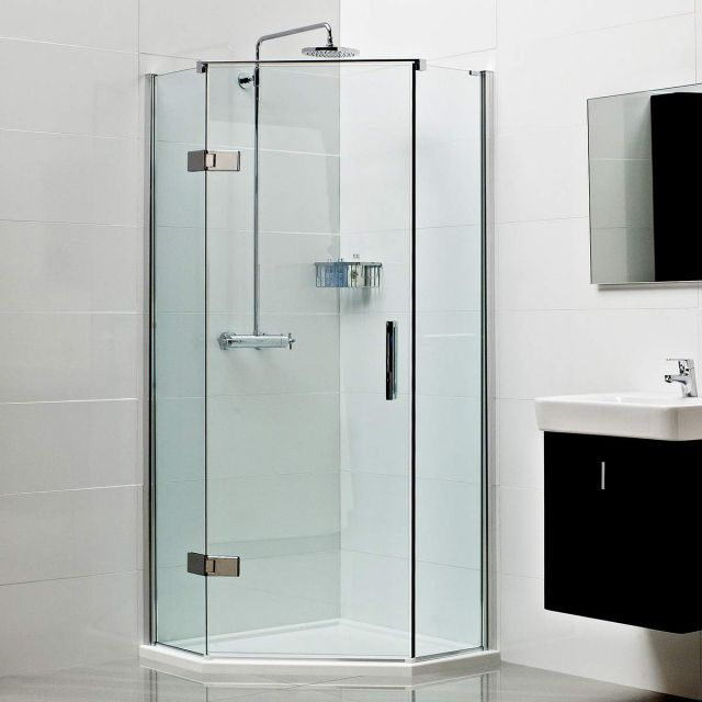 Roman Decem Neo Angle Shower Enclosure Uk Bathrooms