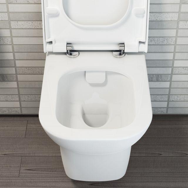 VitrA Nest Rimless Wall Hung Toilet