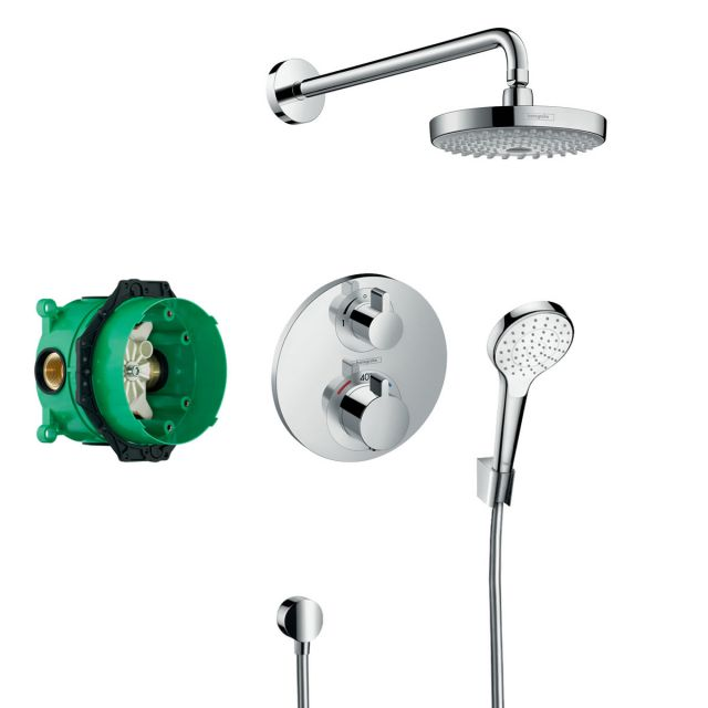 Hansgrohe Design Croma Select S Ecostat S Shower Set - 27295000