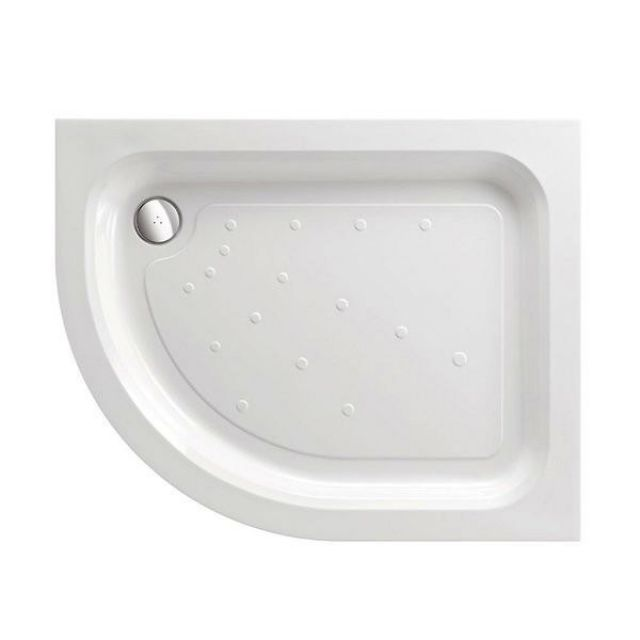 Just Trays Ultracast Offset Quadrant Shower Tray