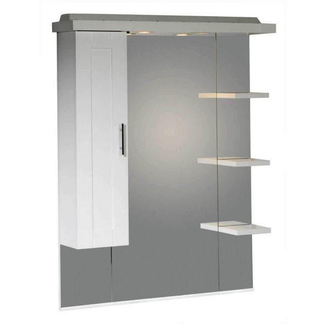 Roper Rhodes Valencia mirror with shelves cupboard and canopy