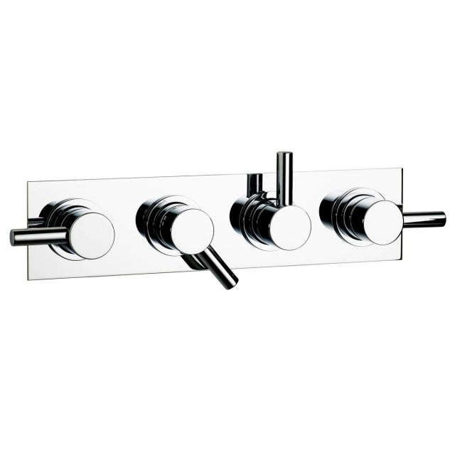 Swadling Absolute Triple Outlet Thermostatic Shower Mixer