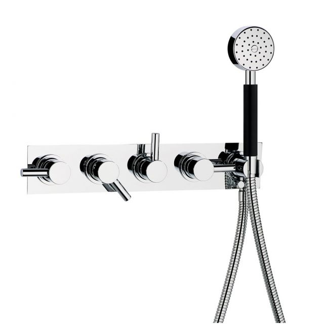 Swadling  Absolute 3 Outlet Thermostatic Shower Mixer with Hand Shower
