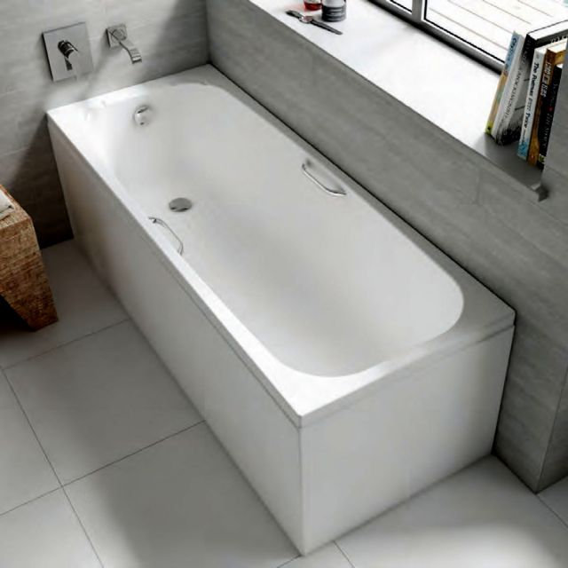 Carron Swallow Single Ended 8mm Acrylic Bath